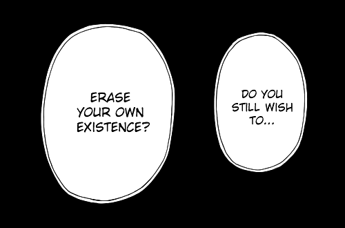 Own, You, and Still: DO YOu  STILL WISH  TO...  ERASE  YOUR OWN  EXISTENCE?