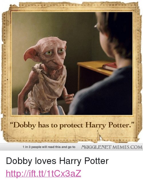 Dobby Has To Protect Harry Potter 1 In 3 People Will Read This And