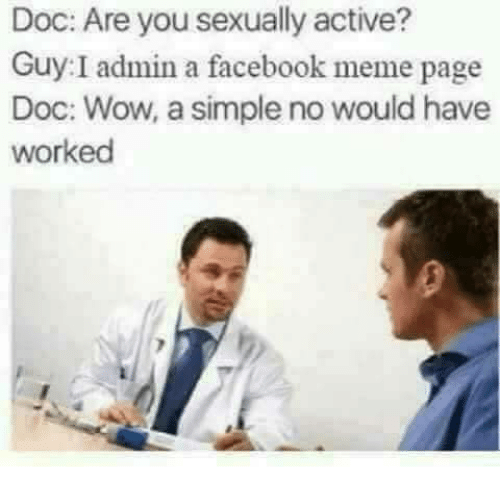 Sexually active memes
