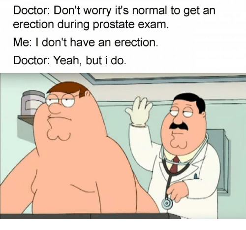 Doctor Dont Worry Its Normal To Get An Erection During -5511