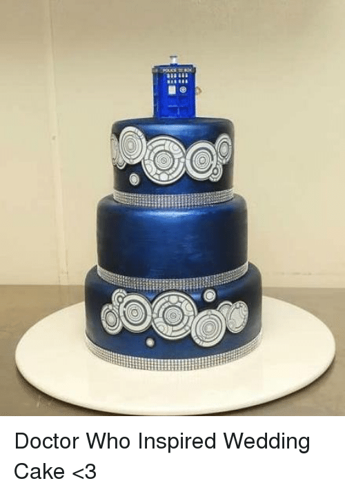 Doctor Memes And Cake Who Inspired Wedding 3