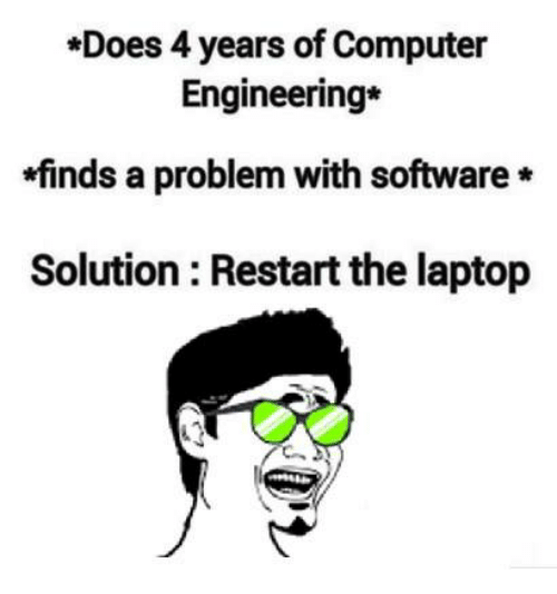 does 4 years of computer engineering finds a problem with 6174866 ✅ 25 best memes about computer engineering computer