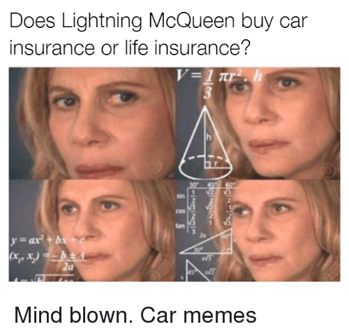Does Lightning Mcqueen Have Car Or Life Insurance