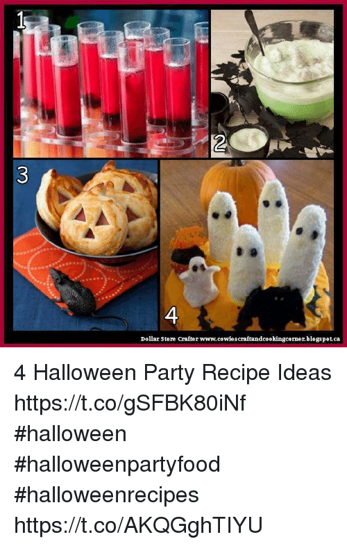 Halloween Memes And Party Dollar Store Crafter Cowies Craftandcookingcornerblogspotca 4 Recipe
