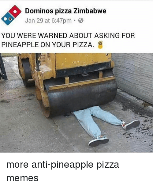 Search Dominos Zimbabwe Memes On Sizzle