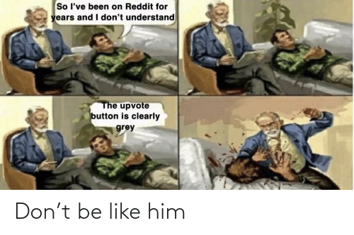 Be Like, Him, and Don: Don't be like him