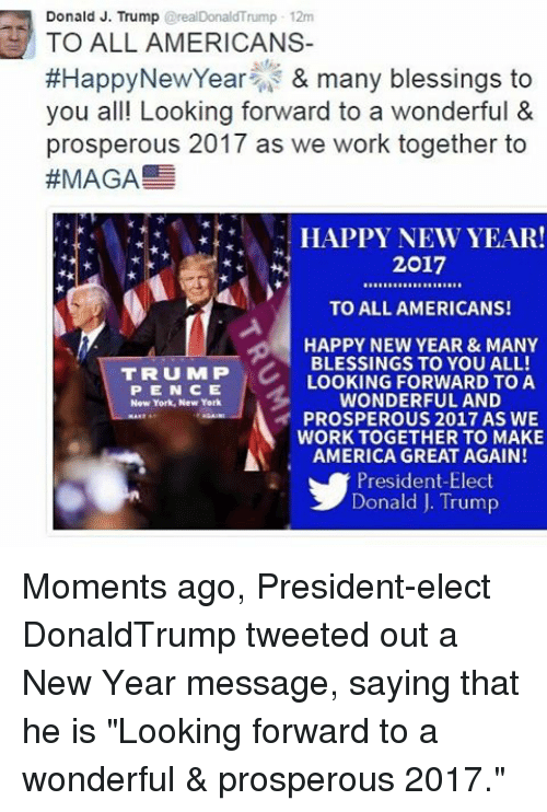 memes new york and 2017 donald j trump 2realdonaldtrump 12m to all