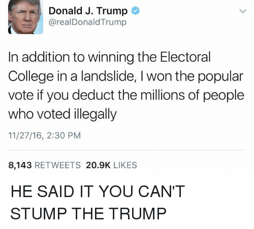 Stump The Trump