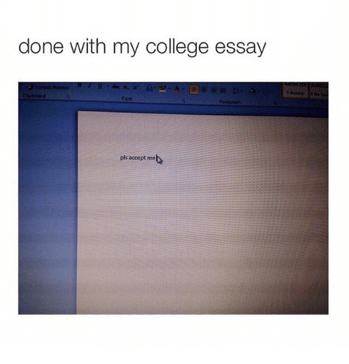 humorous college essays