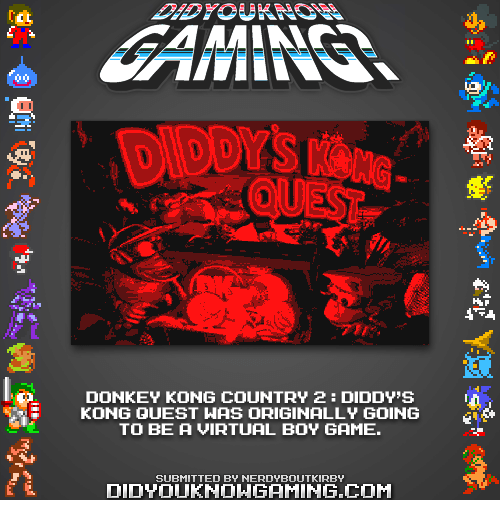 Donkey Kong Country 2 Diddys Kong Quest Was Originally Going To Be