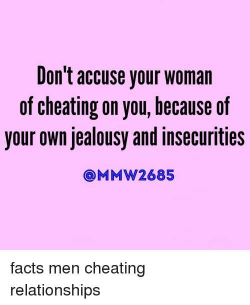 facts about cheating men