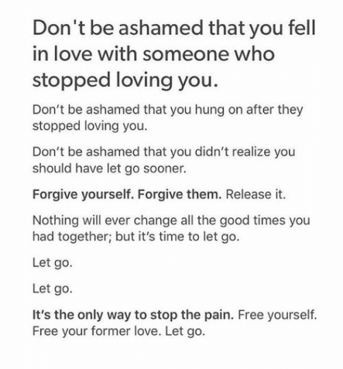You stops when he loving 10 telling