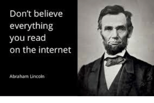 Image result for lincoln memes on the internet