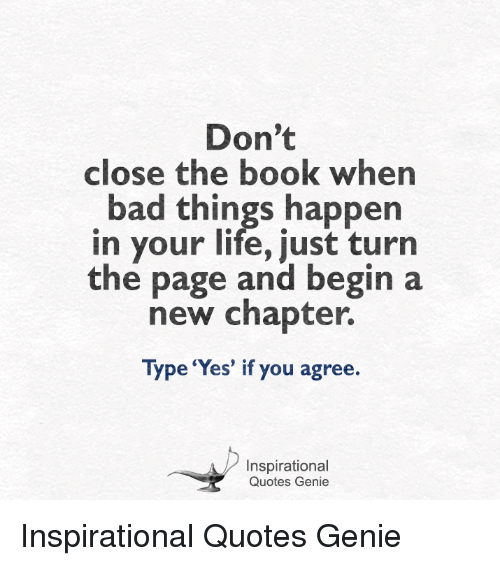 Don\'t Close the Book When Bad Things Happen in Your Life ...