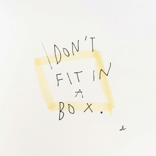 Fit,  Dont, and Fit In: DONT  FIT IN  A  BDX