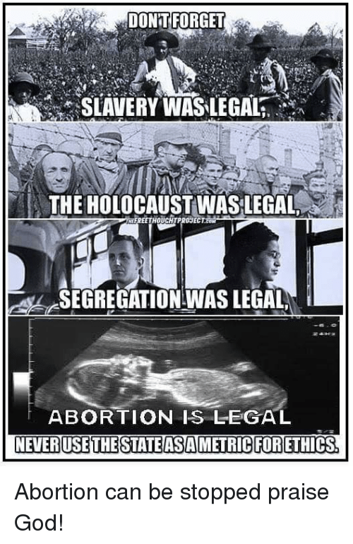 Image result for slavery abortion meme