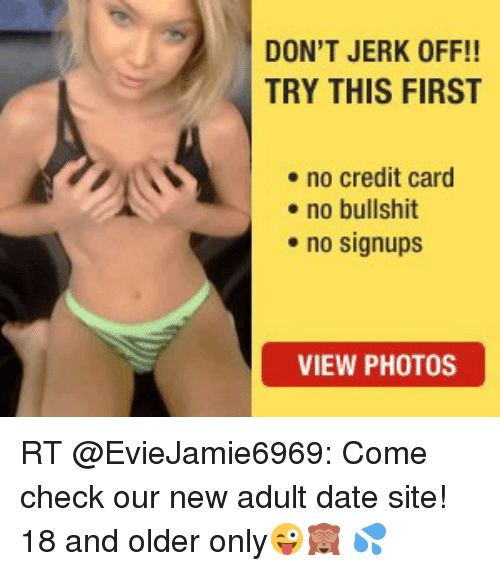site No credit card adult