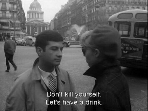 Kill Yourself, Let's, and  Drink: Don't kill yourself.  Let's have a drink