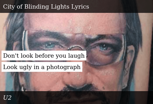 Don T Look Before You Laugh Look Ugly In A Photograph