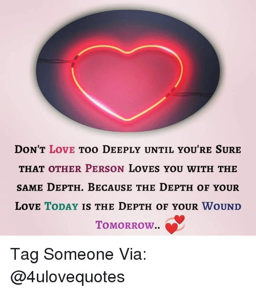 when a man loves you deeply