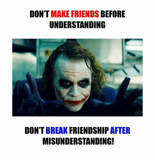Friends before dating