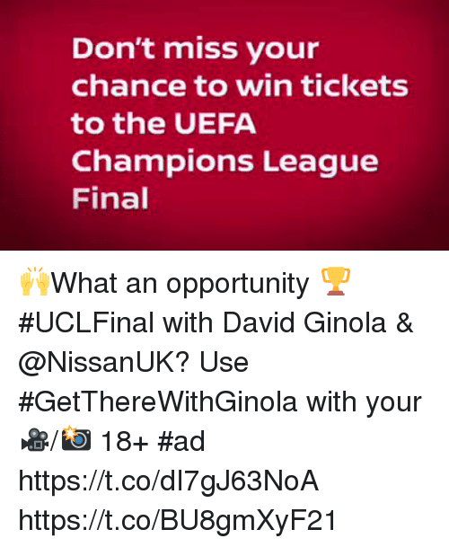 tickets finale champions league