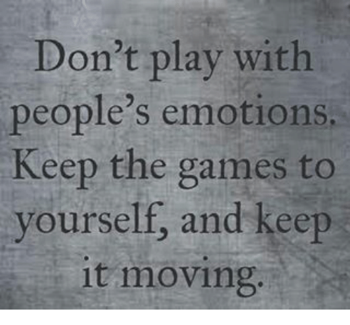 how to play with peoples emotions