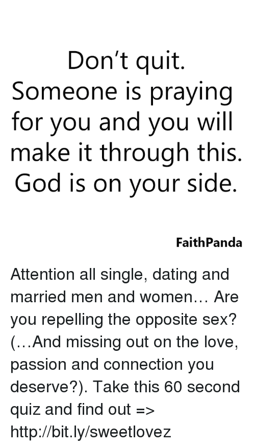 dating and praying