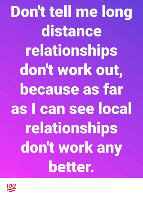 long distance relationships do they work