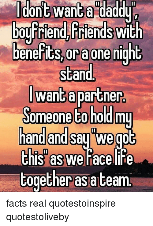 i want a one night stand with a guy