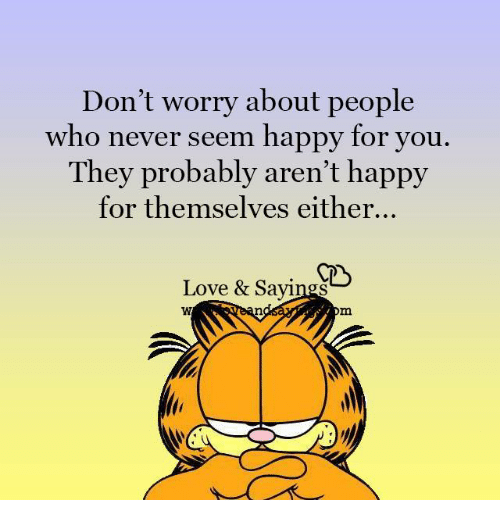 people who are never happy