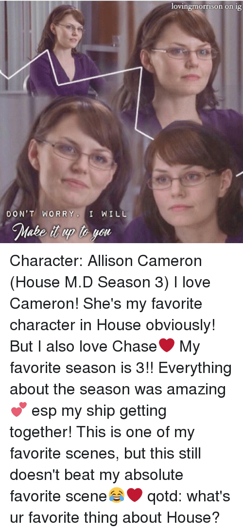 chase and cameron scenes