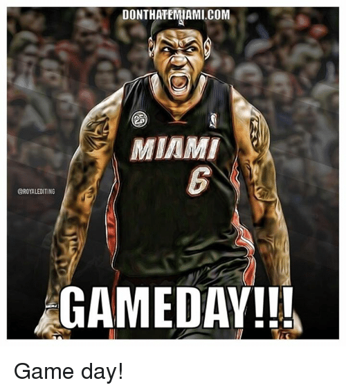 Donthatemiamicom Miami Oroyalediting Gameday Game Day