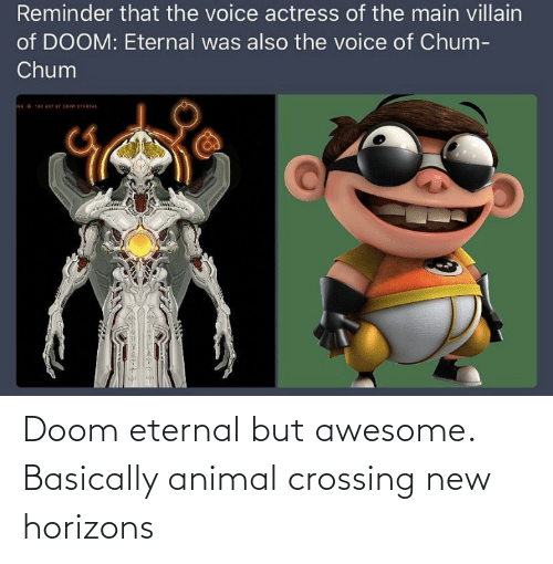 Doom Eternal But Awesome Basically Animal Crossing New Horizons