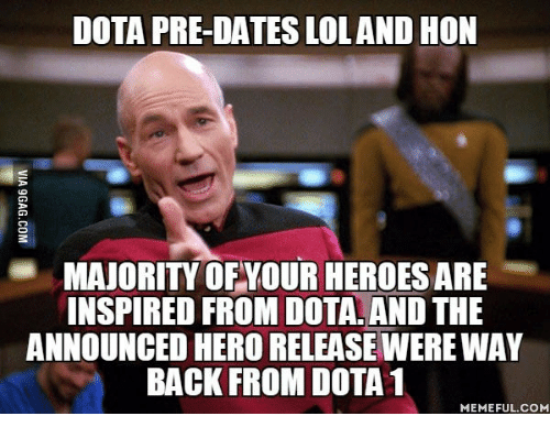 Dota Pre Dates Loland Hon Majority Of Your Heroes Are Inspired From