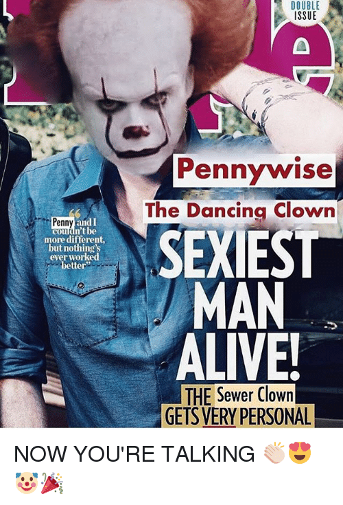 double issue pennywise the dancing clown sexiest man alive penny 29069921 double issue pennywise the dancing clown sexiest man alive penny