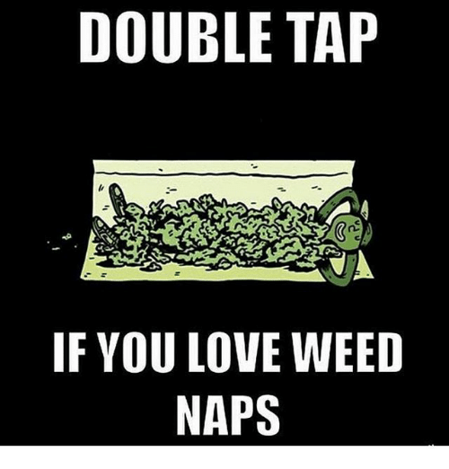 Love, Memes, and Weed: DOUBLE TAP  IF YOU LOVE WEED  NAPS