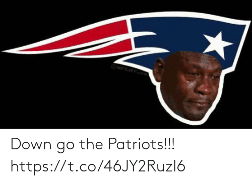 Patriotic, Down, and The: Down go the Patriots!!! https://t.co/46JY2Ruzl6