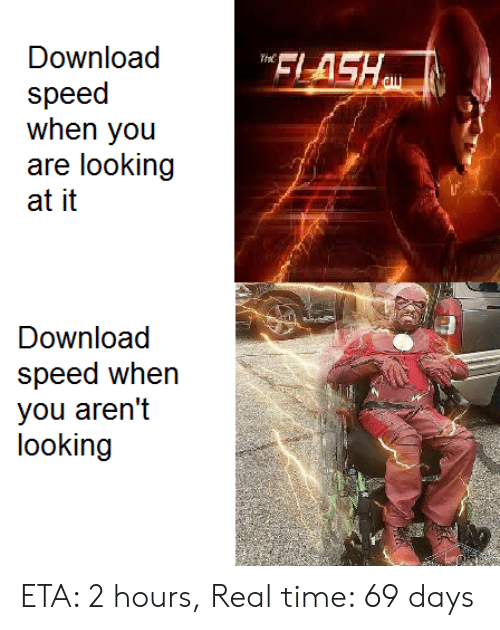 Download FLASH the Speed When You Are Looking at It Download