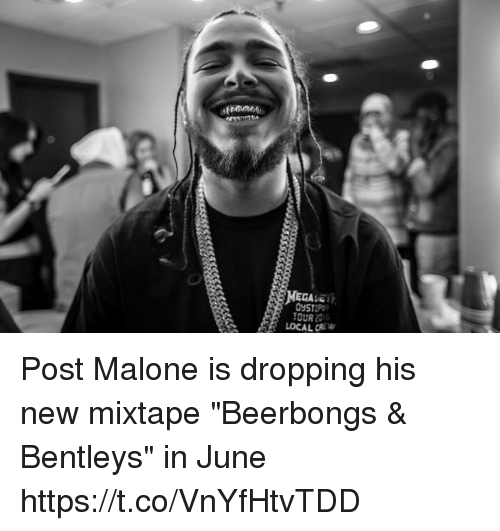 Beerbongs Bentleys Post Malone: 25+ Best Memes About Post Malone