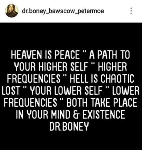 Dr Boney Bawscow Petermoe HEAVEN IS PEACE a PATH TO YOUR