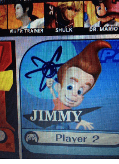 Dr Mario Shulk Fit Trainer Jimmy Player Smash Bros Ultimate