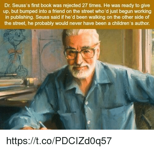Dr Seuss Who Is He: Dr Seuss's First Book Was Rejected 27 Times He Was Ready
