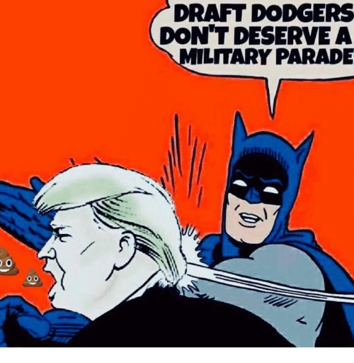 Dodgers, Draft, and  Dont: DRAFT DODGERS  DON'T DESERVEA  LITARY PARADE  0.0