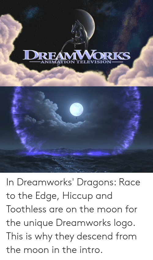 DREAMWORKS ANIMATION TELEVISION in Dreamworks' Dragons Race