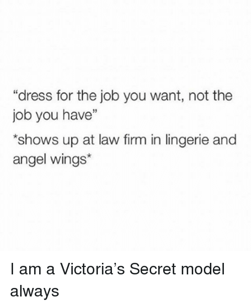 Angel, Dress, And Lingerie:   How To Get The Job You Want