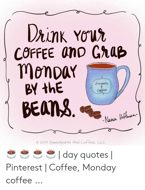 Drink Your COFFEE anD GraB Monpar BY thE Sweapants & Coffee BEANS ... #coffeeBean