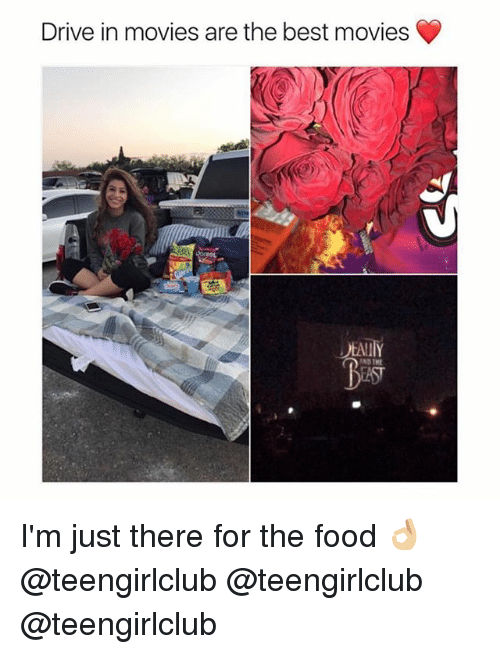 Girl and The Best: Drive in movies are the best movies  AND I'm just there for the food 👌🏼 @teengirlclub @teengirlclub @teengirlclub