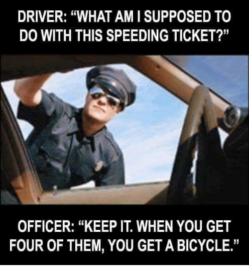 how to get out of a speed ticket australia
