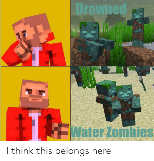 Drowned Water Zombies I Think This Belongs Here   Zombies